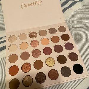Colourpop Bare Necessities eyeshadow pallete